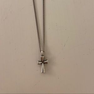 James Avery St. Teresa Cross Necklace